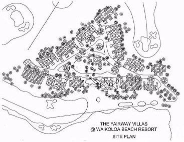 Map Layout Outrigger Fairway Villas