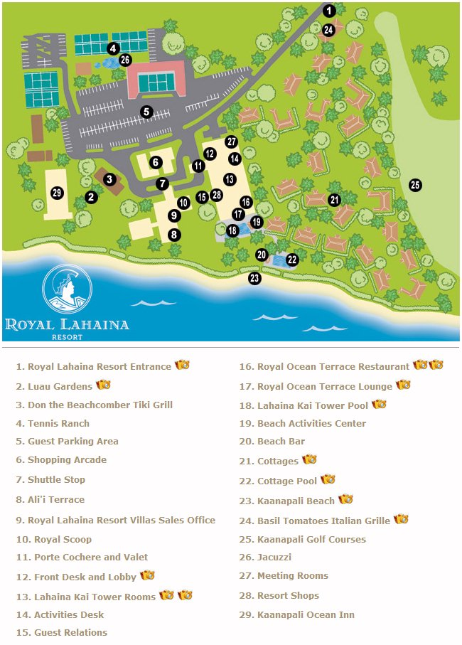 royal lahaina cottages pin map layout royal solaris on  : map RoyalLahainaResort Lahaina from 207.246.66.205 size 650 x 907 jpeg 114kB