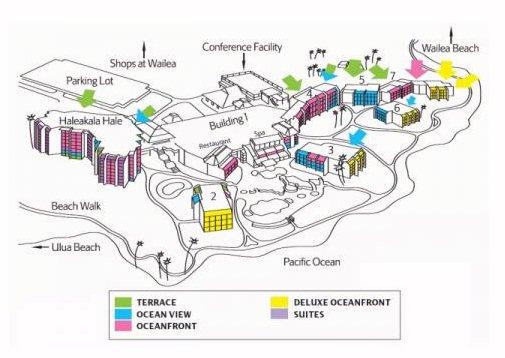 Wailea Hotels Map Map Layout Wailea Beach